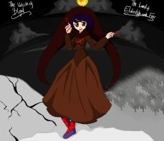 The Witch in the Land of Elderitch and Fear by shy-miyako