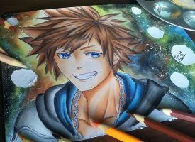 Sora Kingdom of hearts (Laovaan) by Fhilippe124