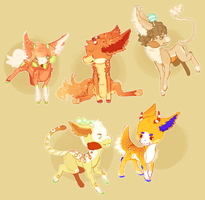 .:All Dem Orange Babs:. by Pieology