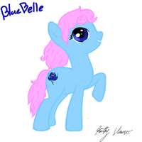 Blue Belle by KathyHauser