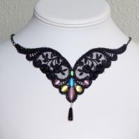 Fairy wings necklace by Lincey