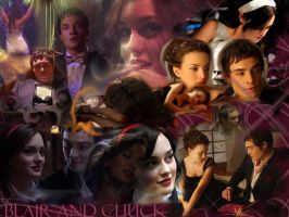 Blair + Chuck by gotelf