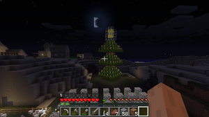 Minecraft  christmas Tree by MakotoKacun
