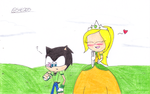 Jack and Princess Mary by sonic4ever760
