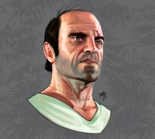 Trevor (GTA V) by DRADE ART - 2014 by LucasAndradeArt