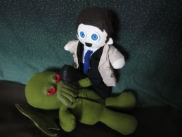 Castiel Vs Cthulhu by Rei2jewels
