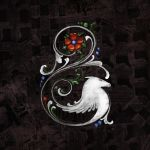 White Horse Rosemaling by carlylyn