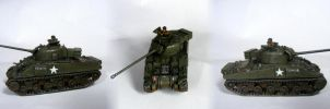1st Polish Armoured Division Sherman Fireflay by Quenta-Silmarillion
