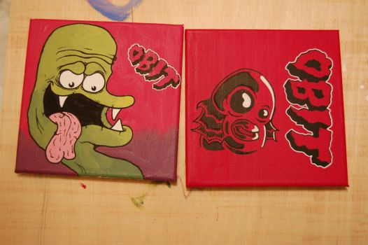 A couple of canvases by brainfrees