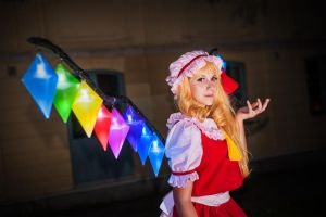 Flandre Scarlet - Lights by Amenoo