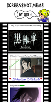 Black Butler Screenshot meme by Thylacina