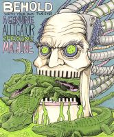 The Alligator Spewing Machine by Alex-Cooper