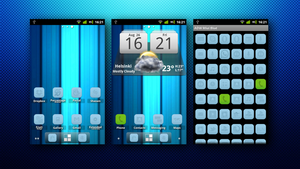 ADW Theme Miui Blue by Explosius