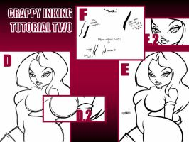 CRAPPY QUICK INKING TUTORIAL 2 by ASSESINA