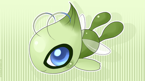 Celebi Wallpaper by SeviYummy