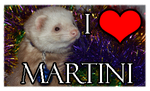 I love Martini [stamp] by Panda-kiddie