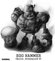 Egg Hammer - Quite Steampunk'd by yoshiunity