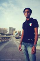 Me in Jeddah Beach 2 by thehonor2