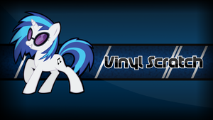 Vinyl Scratch Wallpaper by Zman110