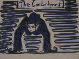 The contortionist by bubble-blower1991