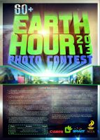 Earth Hour Photo Contest Poster by janmil000