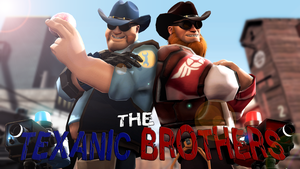 The Texanic Brothers by WitchyGmod