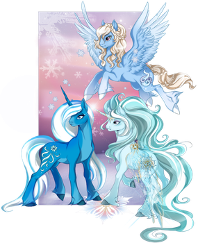 Winter Ponies by CigarsCigarettes