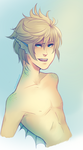 + Commission : Merman Roxas + by taka-maple