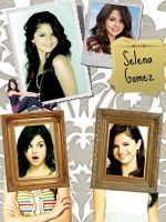 Selena Gomez Collage by GraPHriX