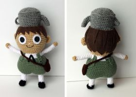 Greg Amigurumi - Over the Garden Wall by bandotaku