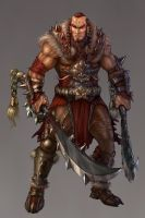 Barbarian by Zero-Position-Art