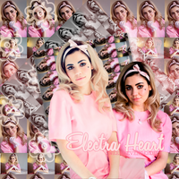 Electra Heart Marina and the Diamonds Blend by doki-edits