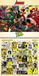 Retro inspired 2013 Marvel Comics Calendar, Jan. by dusty-abell