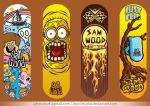 fingerboard designs ( commissions ) by drud-studio