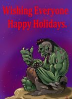 Swift blade Holiday card1 by RodneyCJacobsen