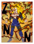 Dragon Ball New Age - Rigor Super Saiyan 5 by RazorShadowZ