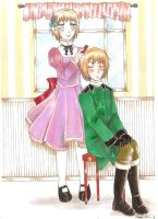 APH: Me and my brother by CaeruleaLacus