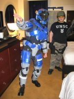 Halo Reach WIP 8 - Carter at Katsucon 19! by Ivorybacon