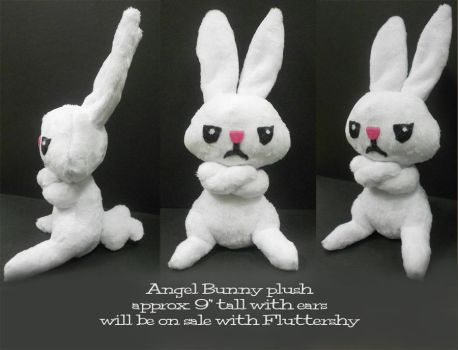 Angel Bunny Plushie by Sophillia