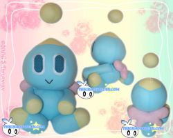 Neutral Chao Plushie by BriteWingz