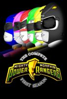 MMPR 1st season booklet Front by CaptainBarringer