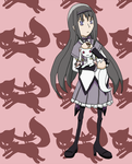 Homura for Laura by SamCyberCat