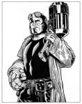 Hellboy - 3 by DMThompson