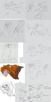 Sketch Dump of War for Surra Stuff by TheProtobabe