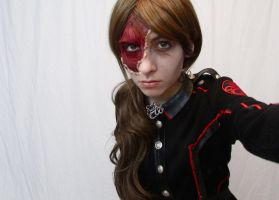 Red Skull Makeup - Genderbent by Garnier-FX