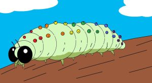 Rainbow Grub by AVRICCI