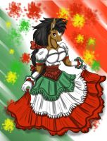 VIVA MEXICO 202 anniversary by Crysalia777