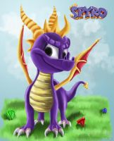 COLLAB - Spyro the Dragon by Janziu