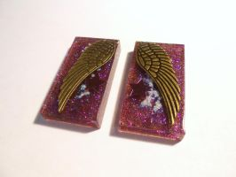 Best Friends Wing Resin Set by Lutrasaura