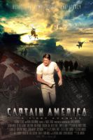 Captain America MOVIE POSTER 1 by childlogiclabs
